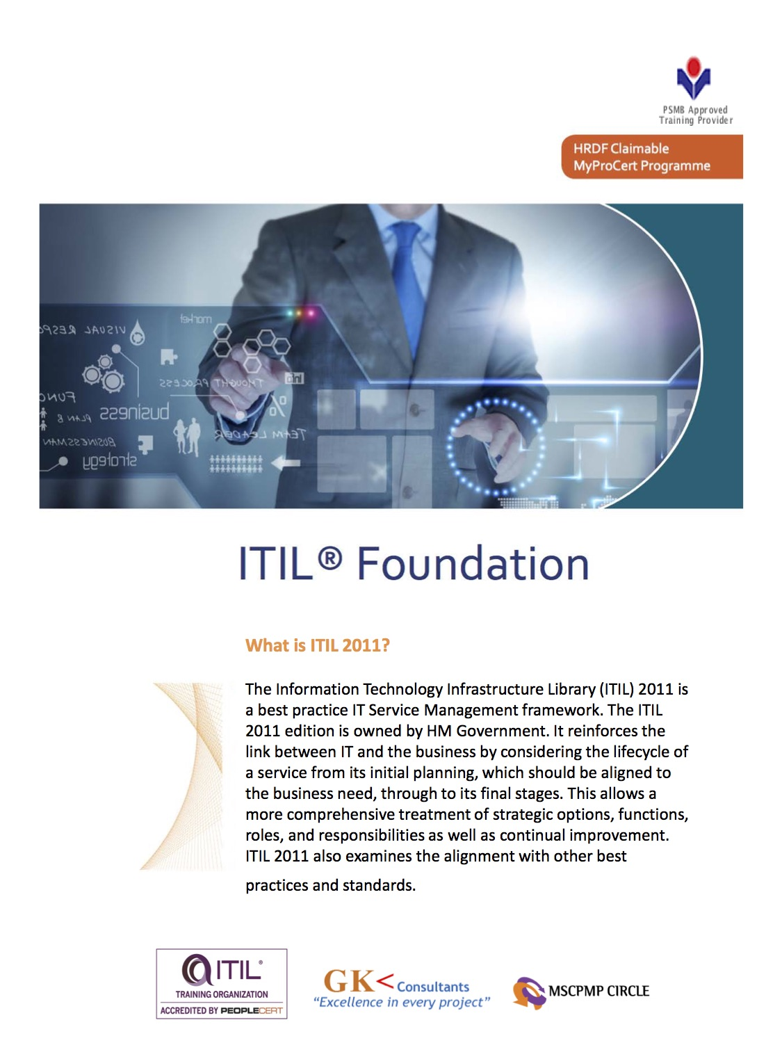 Itil Foundation Certification Program Mpc